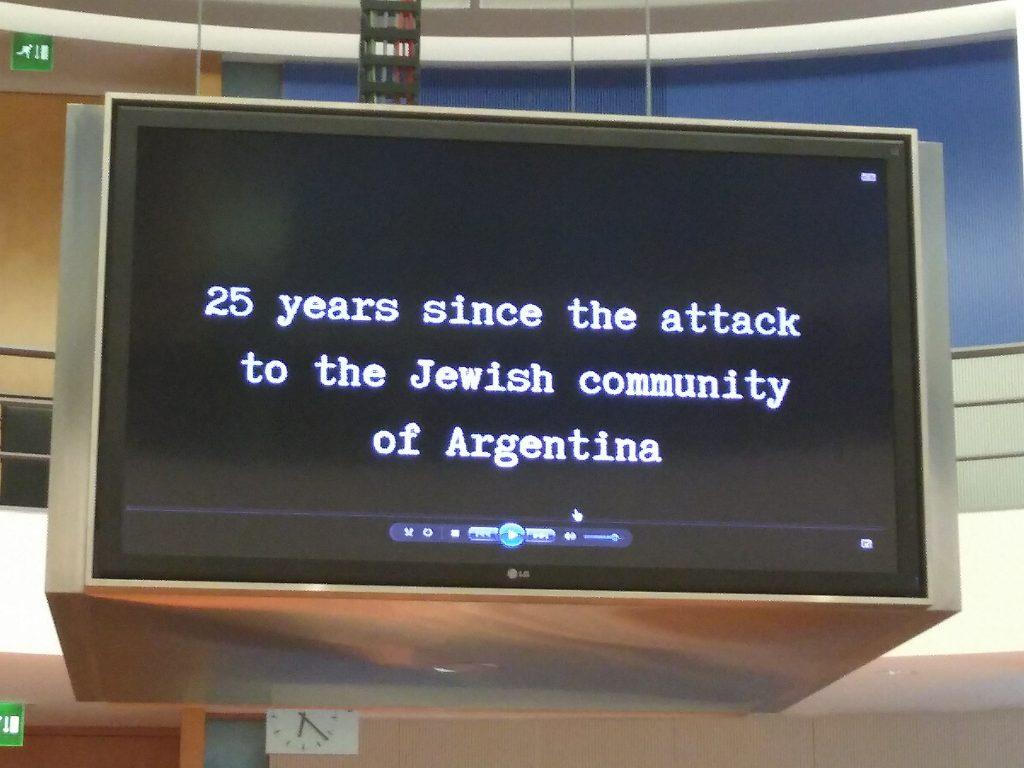 25 Jahre seit dem Anschlag auf die jüdische Gemeinde von Argentinien