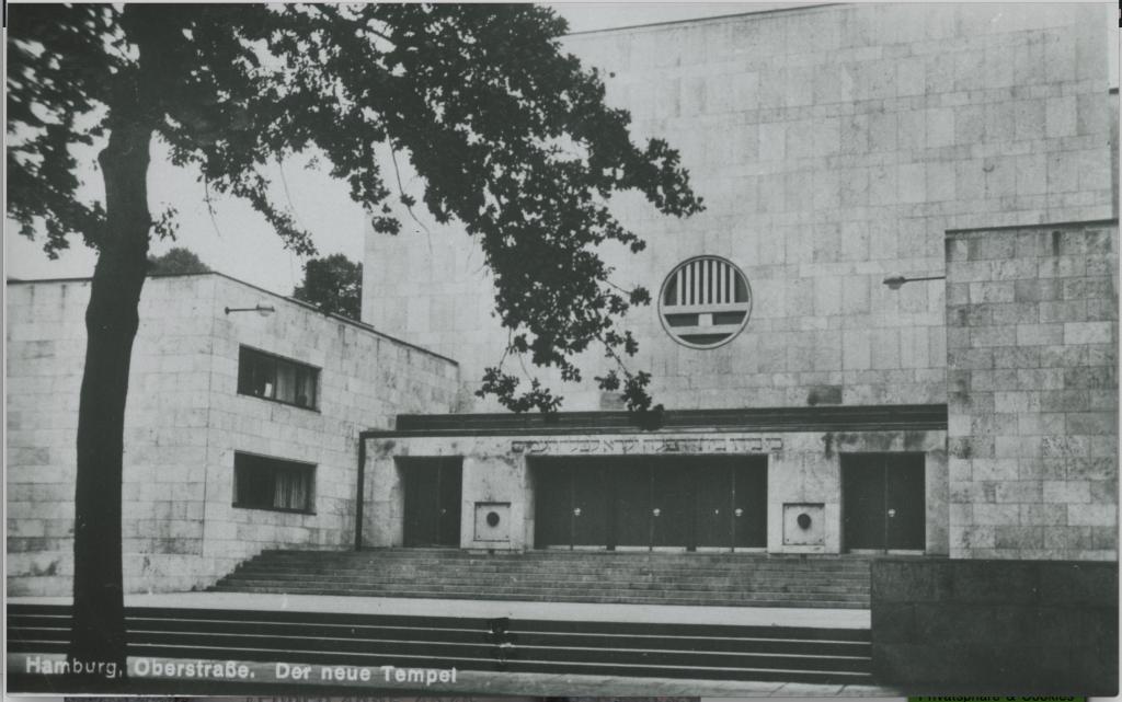 Der Tempel in der Oberstraße/ Quelle: www.igdj-hh.de