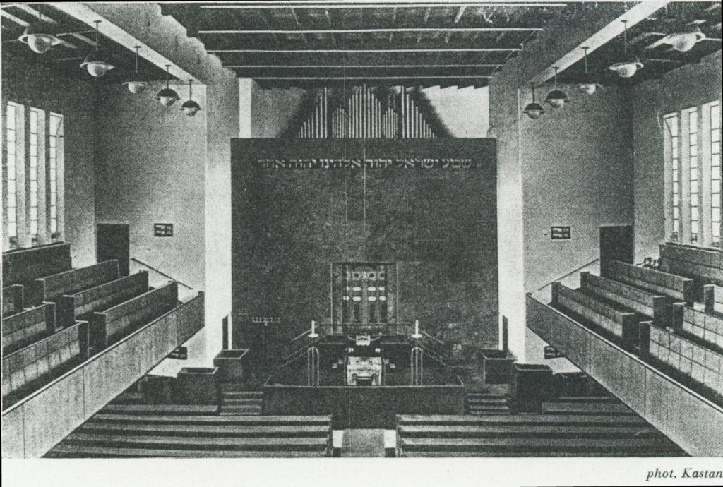 Tempel in der Oberstraße, Innenraum/ Quelle igdj-hh.de