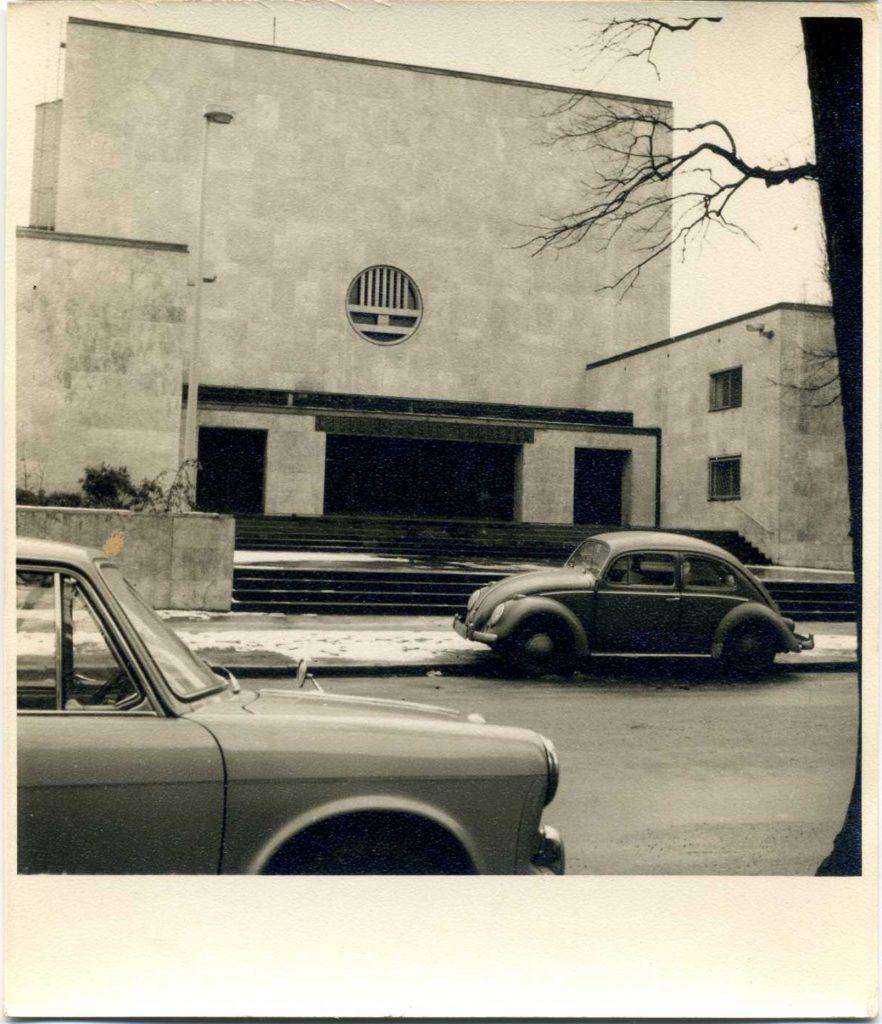 ehemalige Synagoge an der Oberstraße, jetzt NDR/ Foto: Detlef Aberle