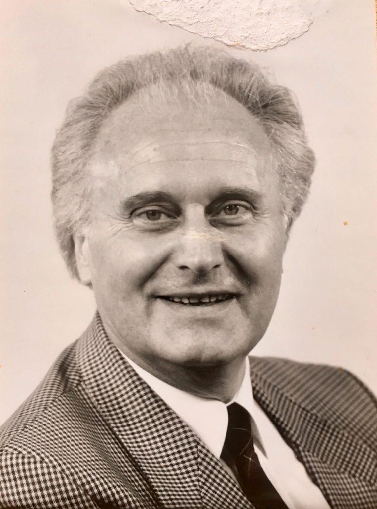 Dieter Frank, Vorgesetzter und Freund von Detlef Aberle, Foto mit der freundlichen Unterstützung durch den Sohn Ullrich Frank